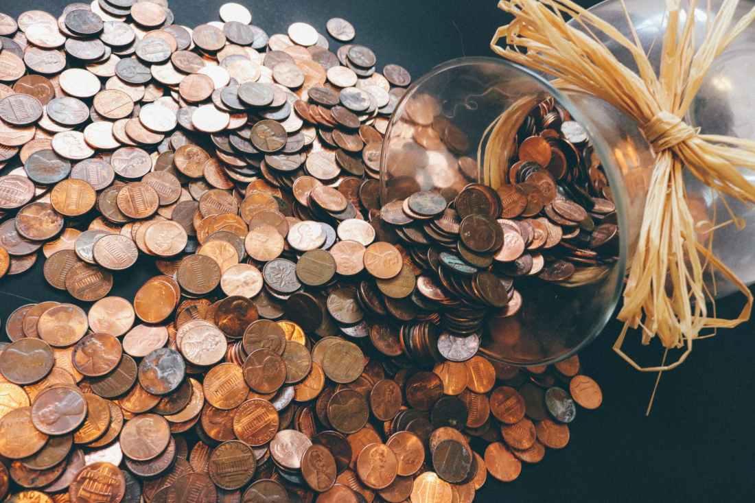 cash coins money pattern